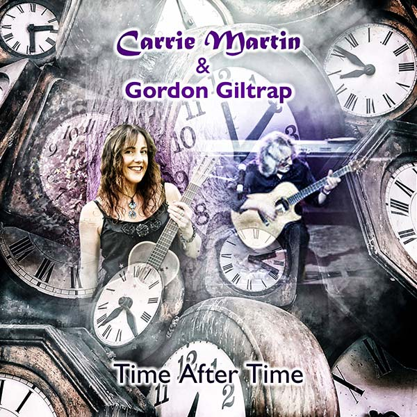 Time After Time by Carrie Martin and Gordon Giltrap